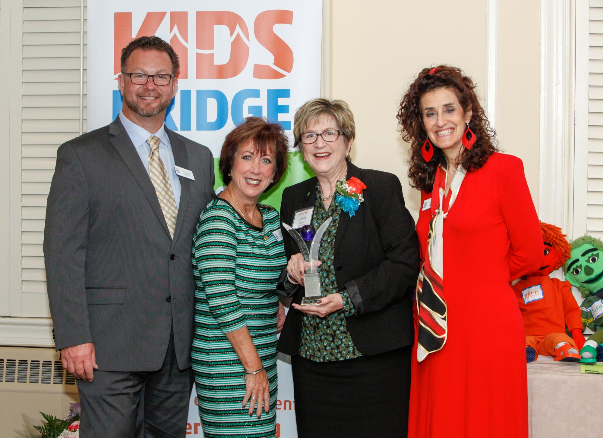 Taken at Kidsbridge's 11th Annual Humanitarian Awards Celebration, held at the Trenton Country Club in Trenton, N.J. Thursday, November 9, 2017. (Photo by Cie Stroud for Kidsbridge)