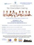 No One is Born Hating Flyer